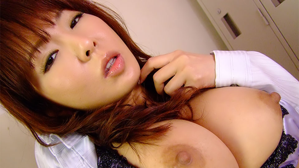 Lovely Japanese lady in a sexy solo session