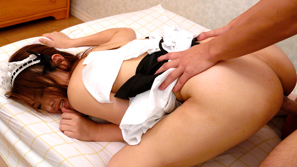 hot and sexy maid iori mizuki learns to serve her master in ktichen